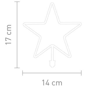 Sompex LED žiarovka Hviezda E27 8 W teplá biela 800lm