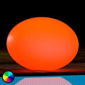 Smart&Green Plávajúce dekoračné LED svietidlo Flatball L