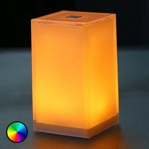 Smart&Green Stolná lampa Cub, 6ks, ovládateľná aplikáciou RGBW