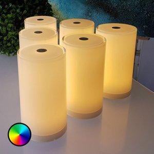 Smart&Green Stolná Tub balenie 6ks ovládateľná aplikáciou RGBW