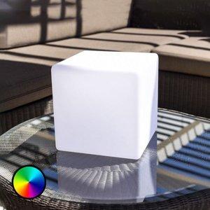 Smart&Green Stolná lampa Dice ovládateľná aplikáciou RGBW 25cm