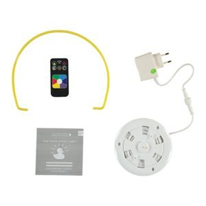 GOODNIGHT LIGHT Dizajnérske LED svietidlo DUCK-DUCK XL v žltej