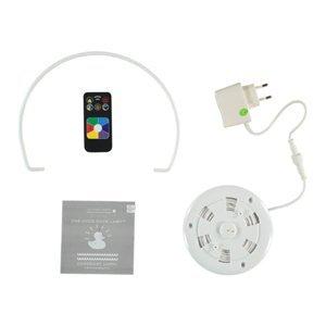 GOODNIGHT LIGHT Dizajnérske LED svietidlo DUCK-DUCK XL v bielej