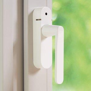 Schellenberg Schellenberg 46512 kľučka okna s alarmom biela