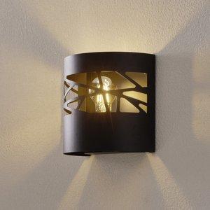 SIGMA Nástenné svietidlo Modul Frez vzorované čierne