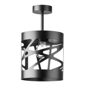SIGMA Stropné svetlo Modul Frez vzorované 17,5cm čierne