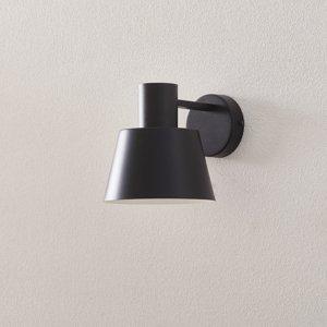 SIGMA Nástenné svietidlo Dunka z kovu 1-plameňové čierne