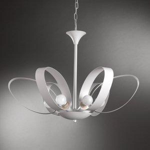 ONLI Závesná lampa Serena, šesť-plameňová, biela