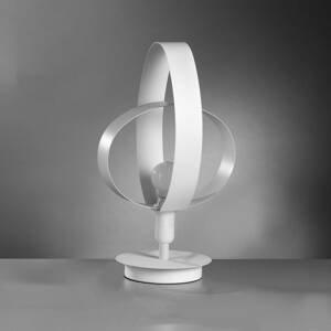 ONLI Stolná lampa Serena v krásnom dizajne, biela