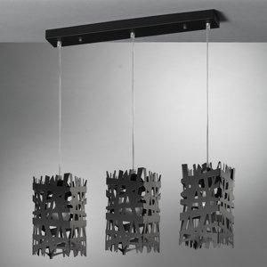 ONLI Závesná lampa Foresta z kovu, troj-plameňová