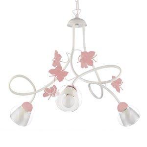 ONLI Závesná lampa Butterfly, troj-plameňová