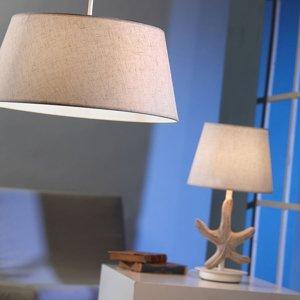 ONLI Stolná lampa Stellina, látkové, morská hviezdica