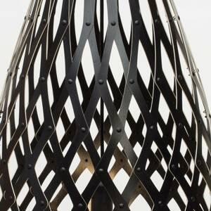 DAVID TRUBRIDGE david trubridge Koura závesná lampa 50cm čierna