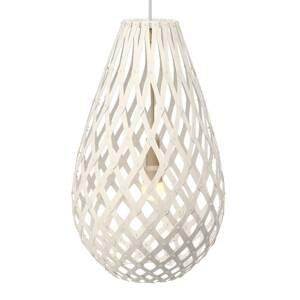 DAVID TRUBRIDGE david trubridge Koura závesná lampa 50cm biela
