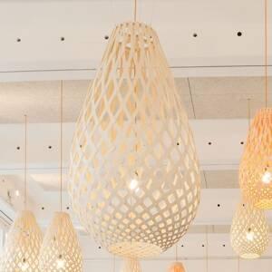 DAVID TRUBRIDGE david trubridge Koura závesná lampa 75cm prírodná