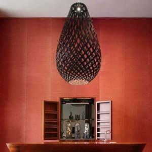 DAVID TRUBRIDGE david trubridge Koura závesná lampa 75cm čierna
