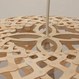 DAVID TRUBRIDGE david trubridge Kina závesná lampa Ø 60cm prírodná