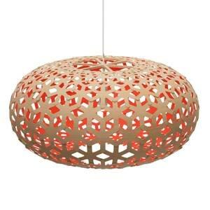 DAVID TRUBRIDGE david trubridge Snowflake Ø80cm bambus-červená