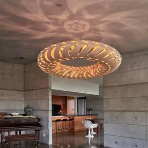 DAVID TRUBRIDGE david trubridge Maru závesná lampa 110cm karamel