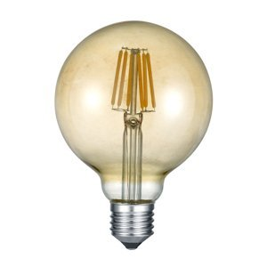 Trio Lighting LED Globe žiarovka E27 6W 2700K jantár
