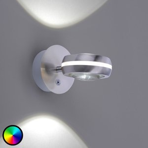 Trio Lighting Trio WiZ Vista nástenné LED svietidlo, nikel matné