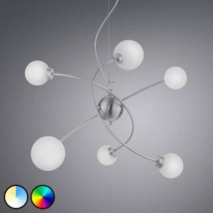 Trio Lighting Trio WiZ Dicapo závesné LED svietidlo, 6-plameňové