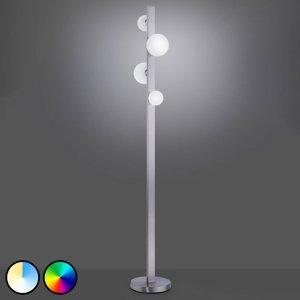 Trio Lighting Trio WiZ Dicapo stojaca LED lampa, štvor-plameňová