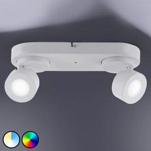 Trio Lighting Trio WiZ Sancho LED reflektor 2-plameňový biely