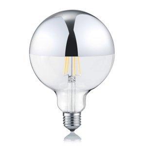 Trio Lighting LED E27 G125 7W 2700K stmievateľná zrkadlová hlava