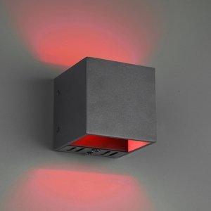 Trio Lighting Trio WiZ Figo nástenné LED svietidlo, čierne matné