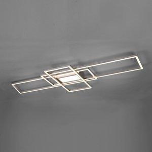 Trio Lighting Stropné LED Irvine 3000 – 6500K, nikel matný