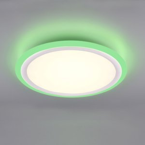 Trio Lighting LED panel Columbia RGBW diaľkové ovládanie Ø 50cm