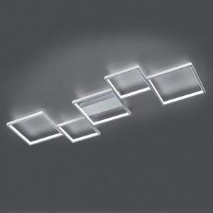 Trio Lighting Stropné LED svetlo Sorrento 120x48cm brúsený Alu