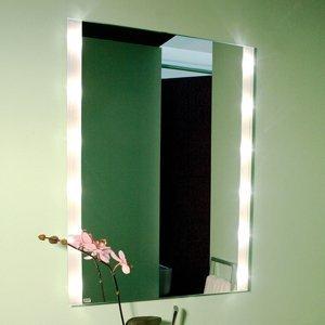 Top Light Hranaté nástenné zrkadlo BRIGHTLIGHT, osvetlené