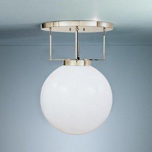 TECNOLUMEN TECNOLUMEN DMB 26 stropné svietidlo mosadz 30 cm