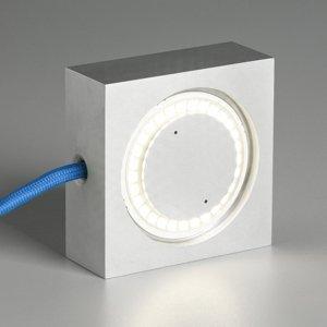 TECNOLUMEN TECNOLUMEN Square LED lampa modrý napájací kábel