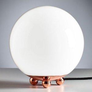 TECNOLUMEN TECNOLUMEN AD32 – stolná lampa, meď