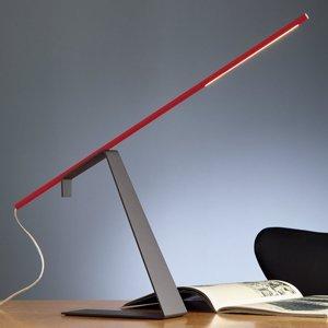 TECNOLUMEN TECNOLUMEN Jella – stolná LED lampa červená