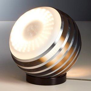 TECNOLUMEN TECNOLUMEN Bulo XL – LED stojaca lampa, hliník