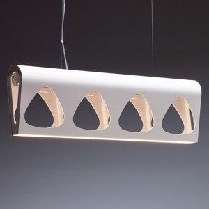TECNOLUMEN TECNOLUMEN Caravelle lampa so stmievačom biela
