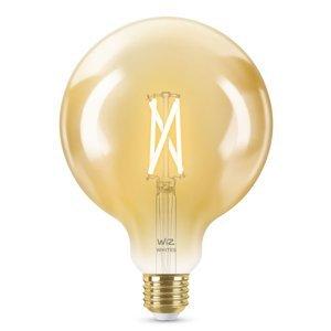 WiZ WiZ E27 LED G125 filament jantár 6,5W 2000–4500K