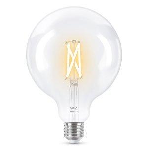 WiZ WiZ E27 LED G125 filament číra 6,5W 2200–5500K