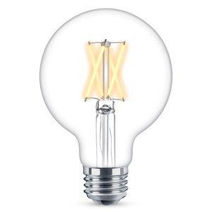 WiZ WiZ E27 LED G95 filament číra 6,5W 2200–5500K