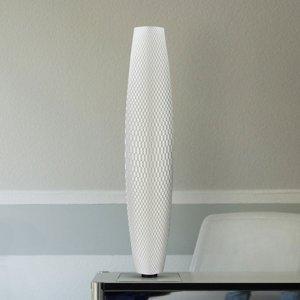 Tagwerk Stojaca LED lampa Flechtwerk Pur 75 RGB biela 75cm