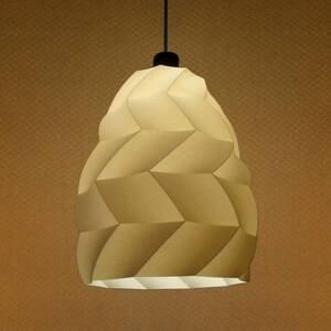 Tagwerk Závesná lampa Kokon, béžová