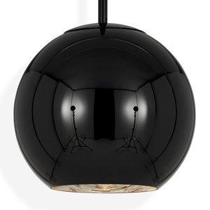 Tom Dixon Tom Dixon Copper Round 25 – závesná lampa čierna