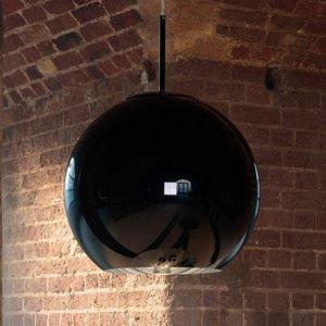 Tom Dixon Tom Dixon Copper Round 45 – závesná lampa čierna