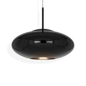 Tom Dixon Tom Dixon Copper Wide závesná lampa, čierna
