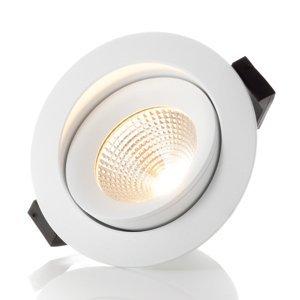 THE LIGHT GROUP SLC One 360° zapustené LED svietidlo biele 2700K