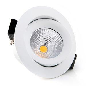 THE LIGHT GROUP SLC One 360° zapustené LED svietidlo biele 3000K
